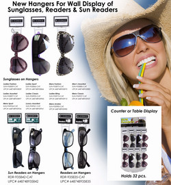 SUN- Sunglasses on Hangers