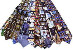Norman Rockwell Licensed Silk Ties