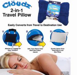 11 PIL-913925 - Cloudz 2-in-1 Travel Pillow