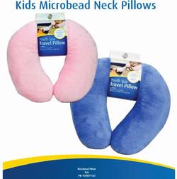09 PIL-020807 - Cloudz Kids Microbead Neck Pillows - Light Blue or Pink