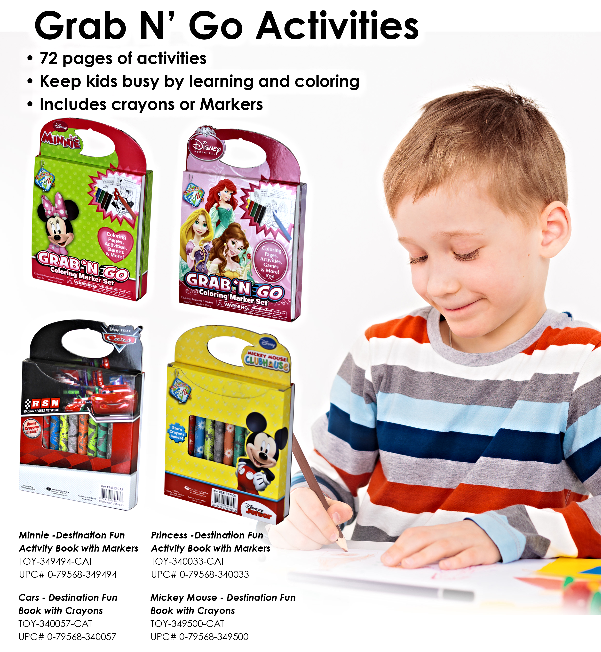 Grab 'N GO Activities