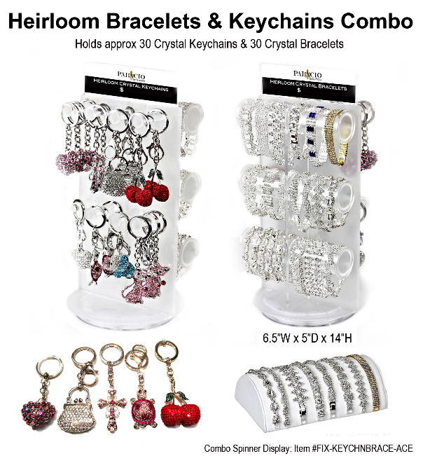 Heirloom Bracelets & Keychains Combo