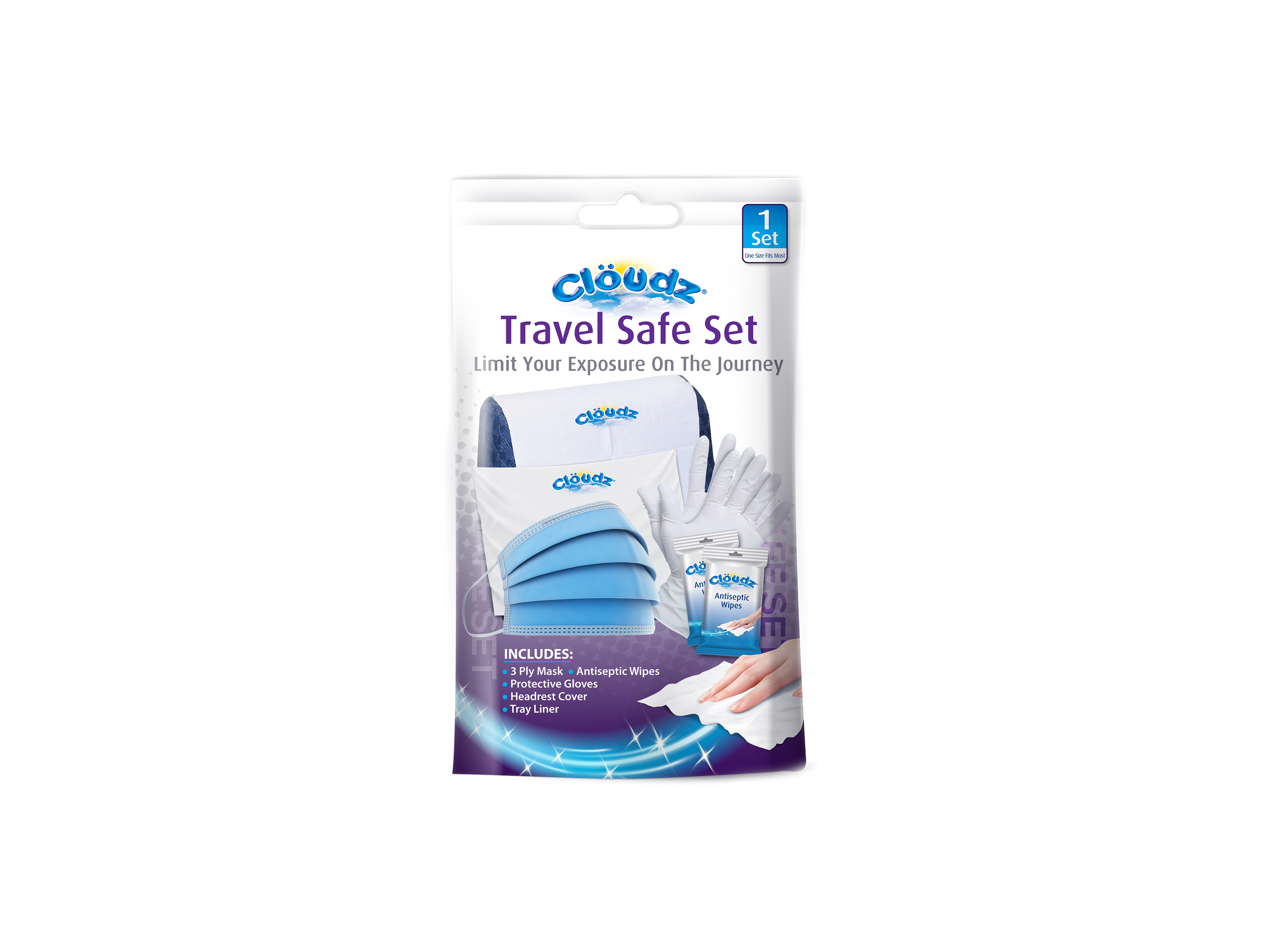 Cloudz Travel Safe Set - 6-1-20