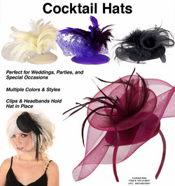 HAT-918647 - Cocktail Hats