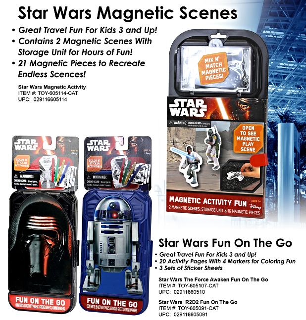 Star Wars Magnetic Activities
