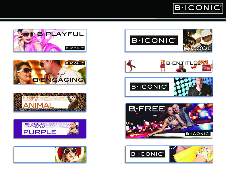 B ICONIC - Graphic Examples