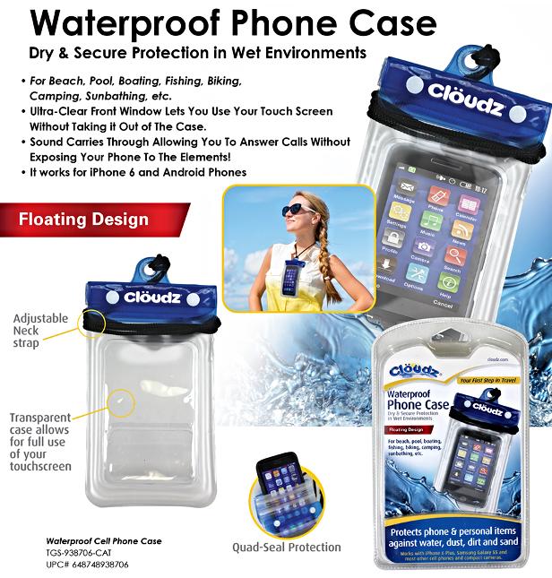 Waterproof Cell Phone Neck Wallet