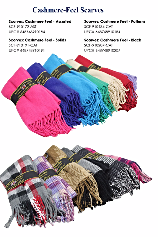 Cashmere-Feel Scarves