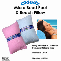 10 PIL-021446 - Cloudz Pool & Beach Microbead Pillow