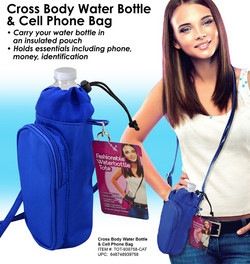 Water Bottle & Cell Phone Tote