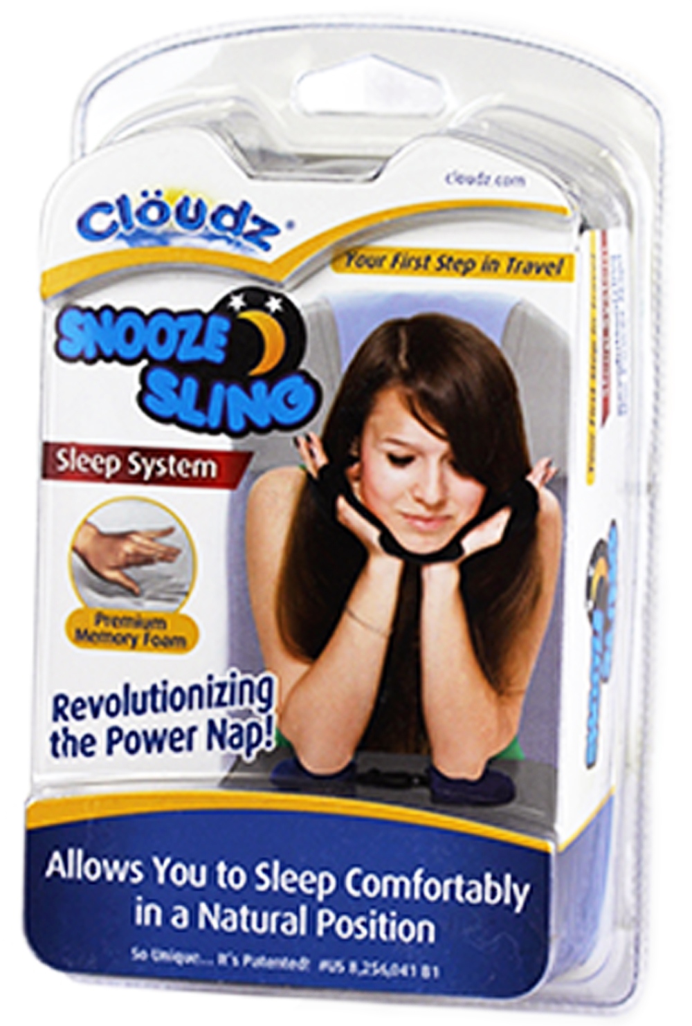 Cloudz Patented Snooze Sling Sleep System-pkg