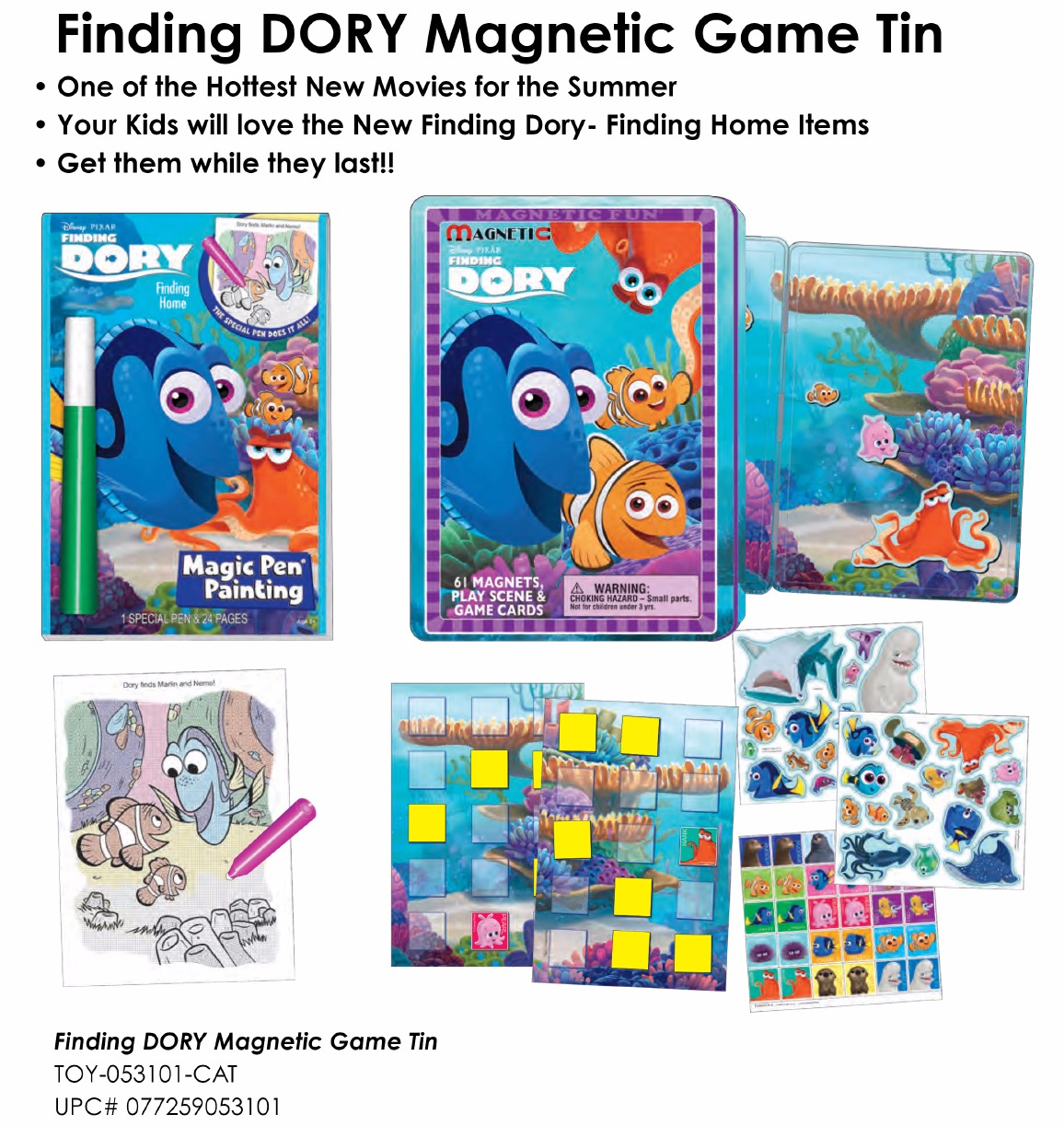 SNI Today - Finding DORY Magnetic Game Tin_edited