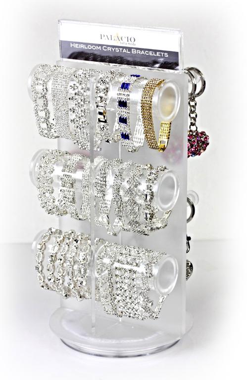 Heirloom Crystal Bracelets Small Spinner