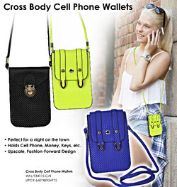 Cross Body Cell Phone Wallets