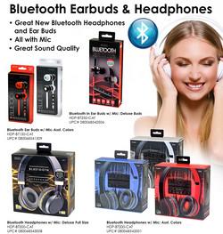 Bluetooth Earbuds & Headphone