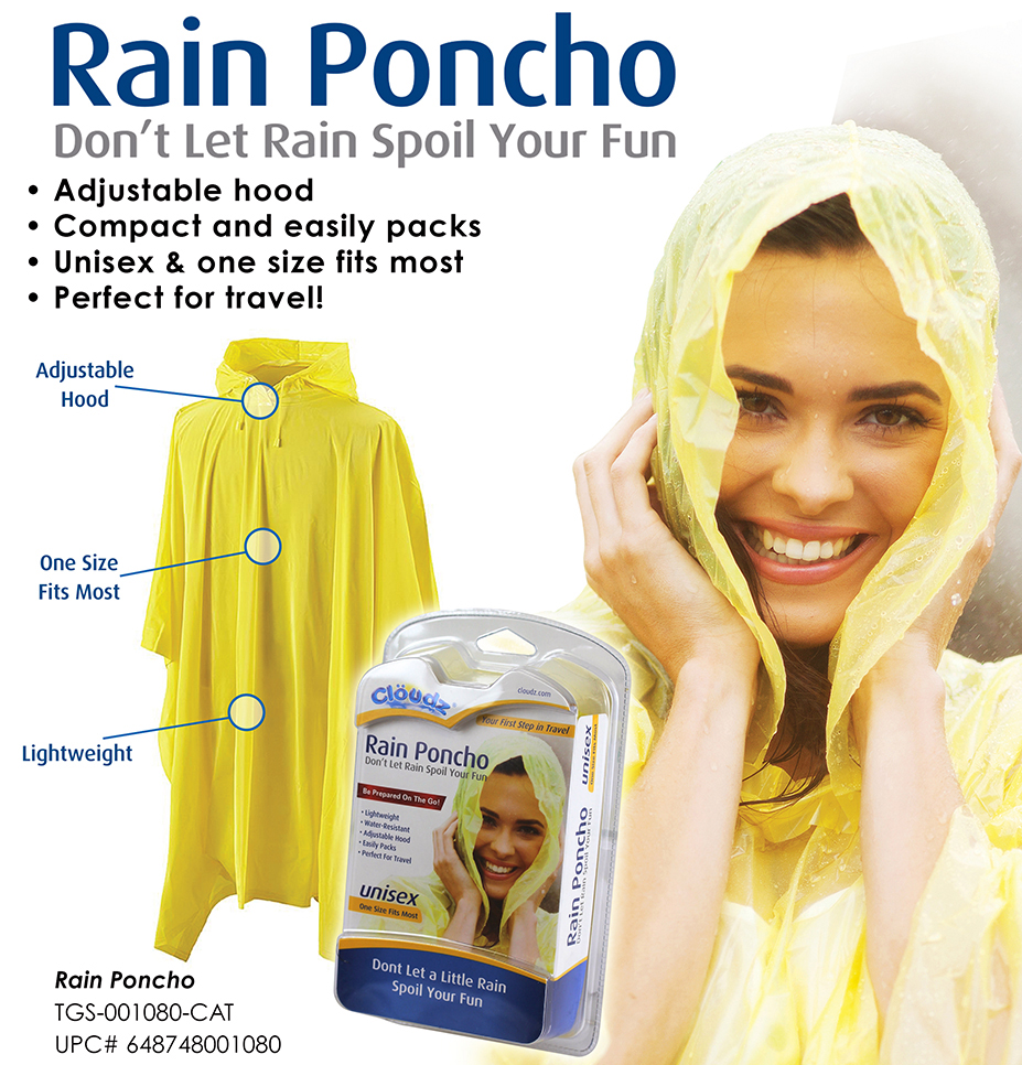 SNI Today - Rain Poncho