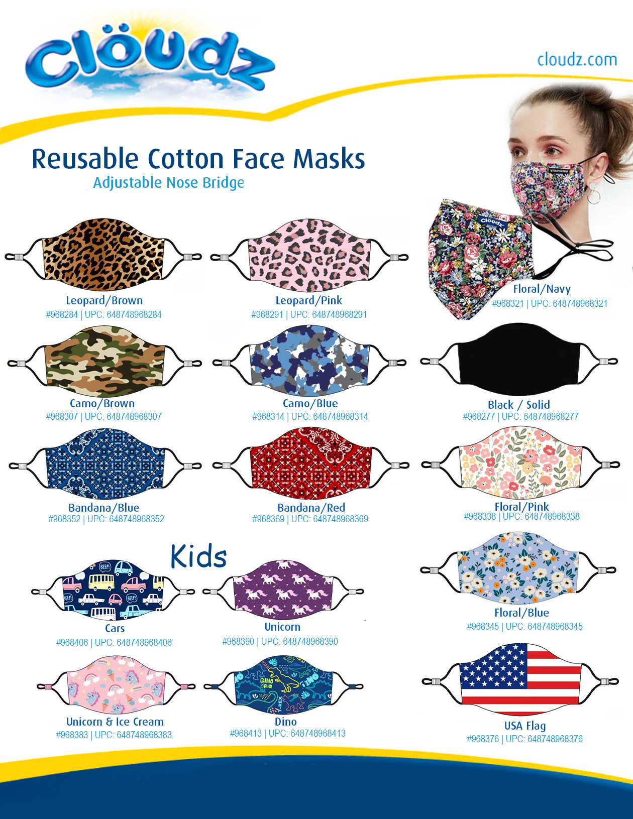 Reusable Cotton Face Masks 5-6-20