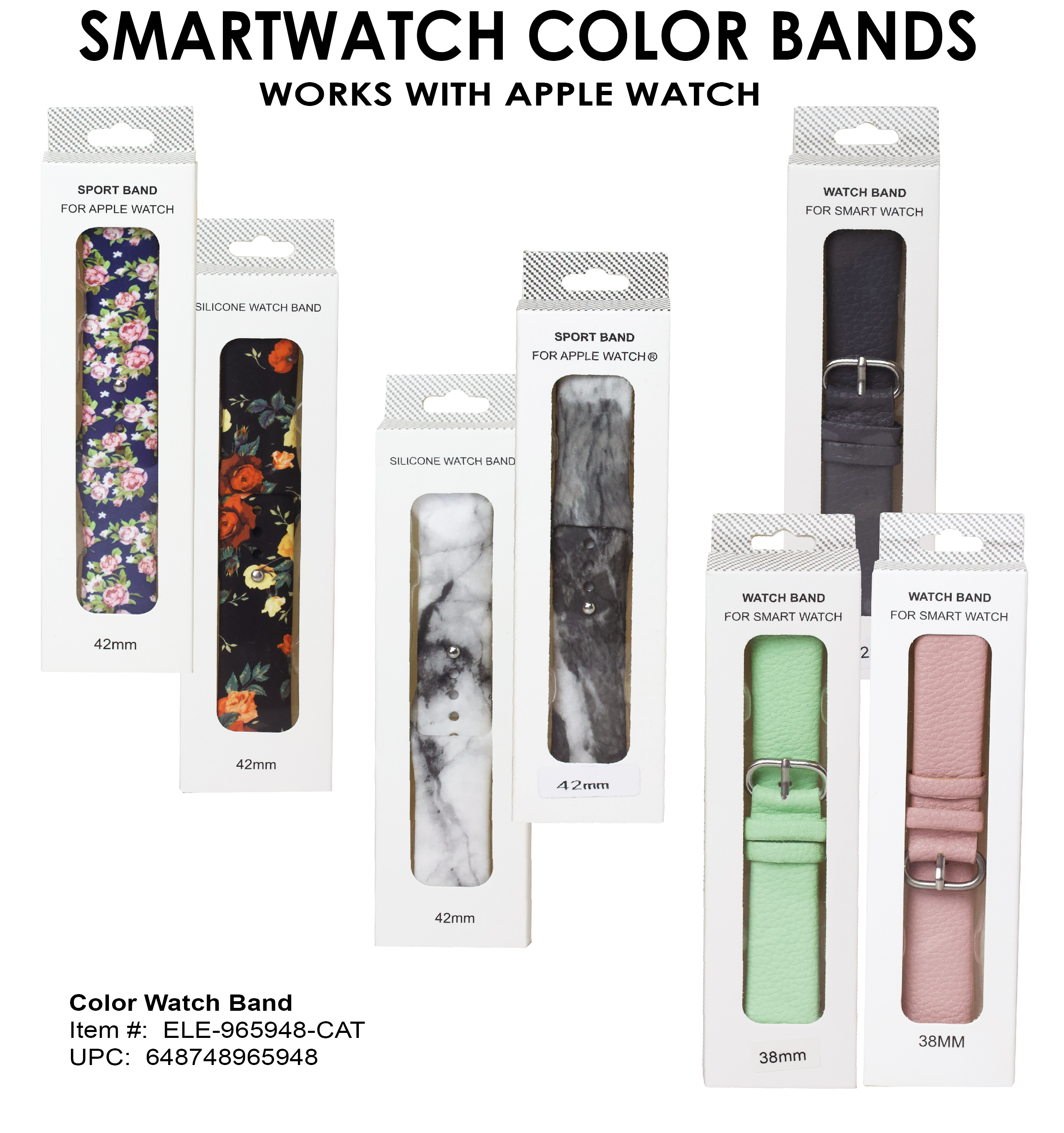 1-Color Watch Bands SNIToday