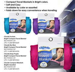Compact Blankets - Brights