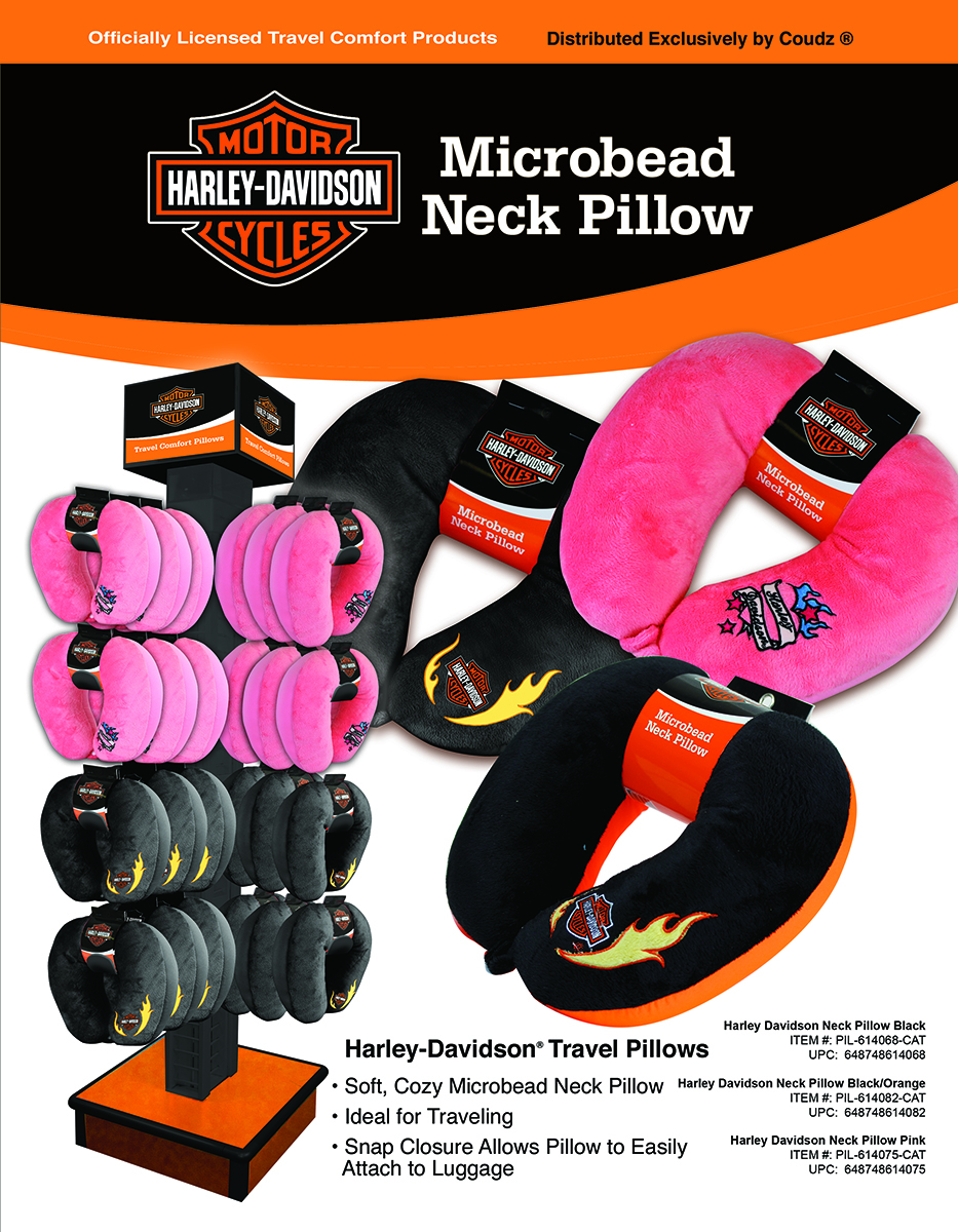 Harley Davidson Neck Pillows
