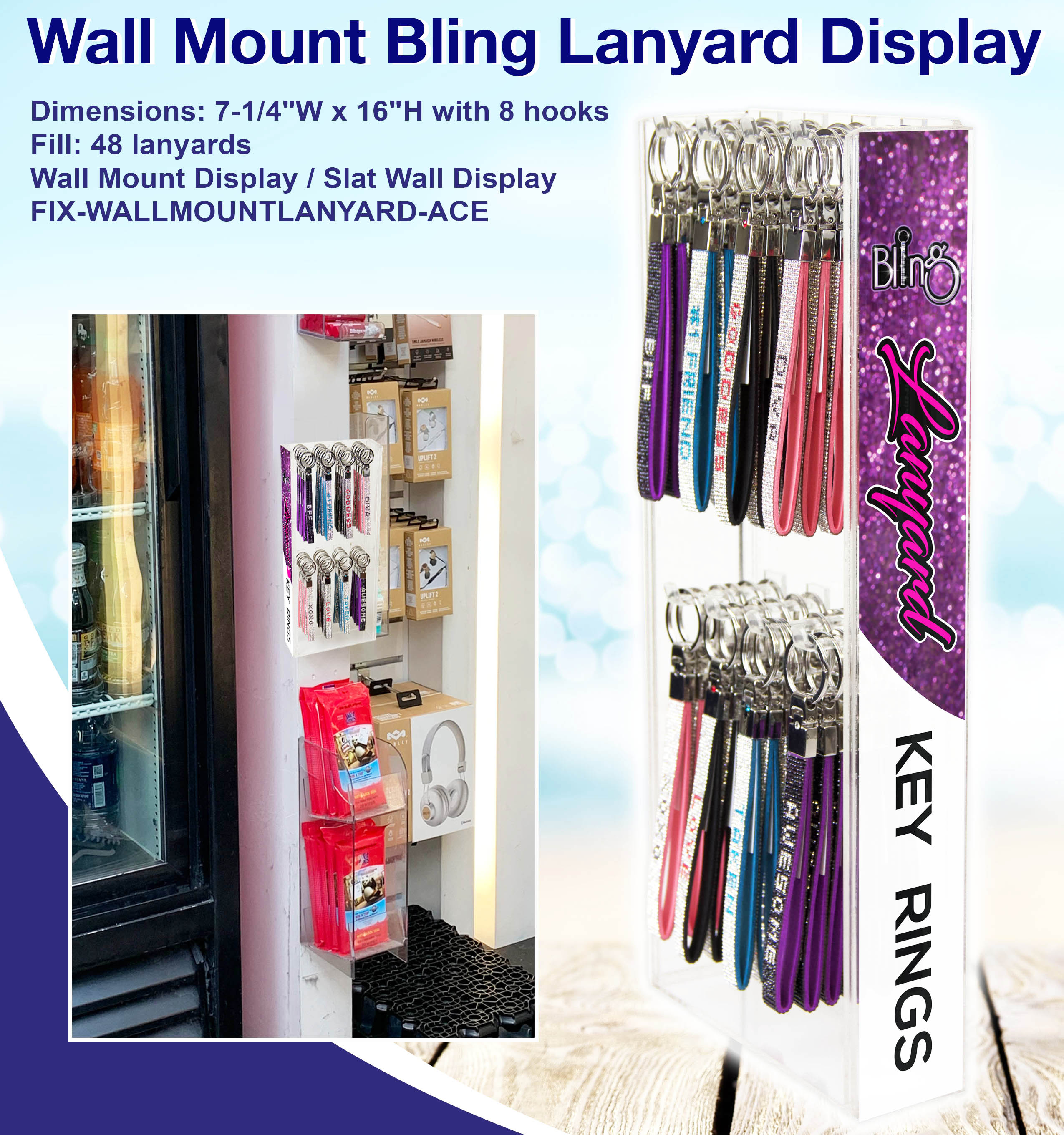 Revised Oridginal, Bling Wall Mount-1
