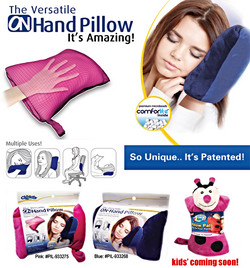 ON Hand Pillow