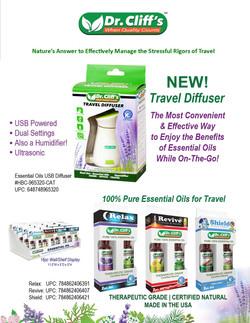 Travel Diffuser & Essential Oils