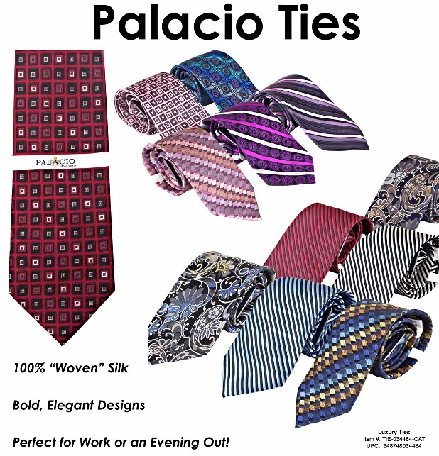 Palacio Silk Ties