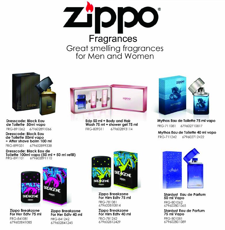 SNI Today - Zippo Fragrances