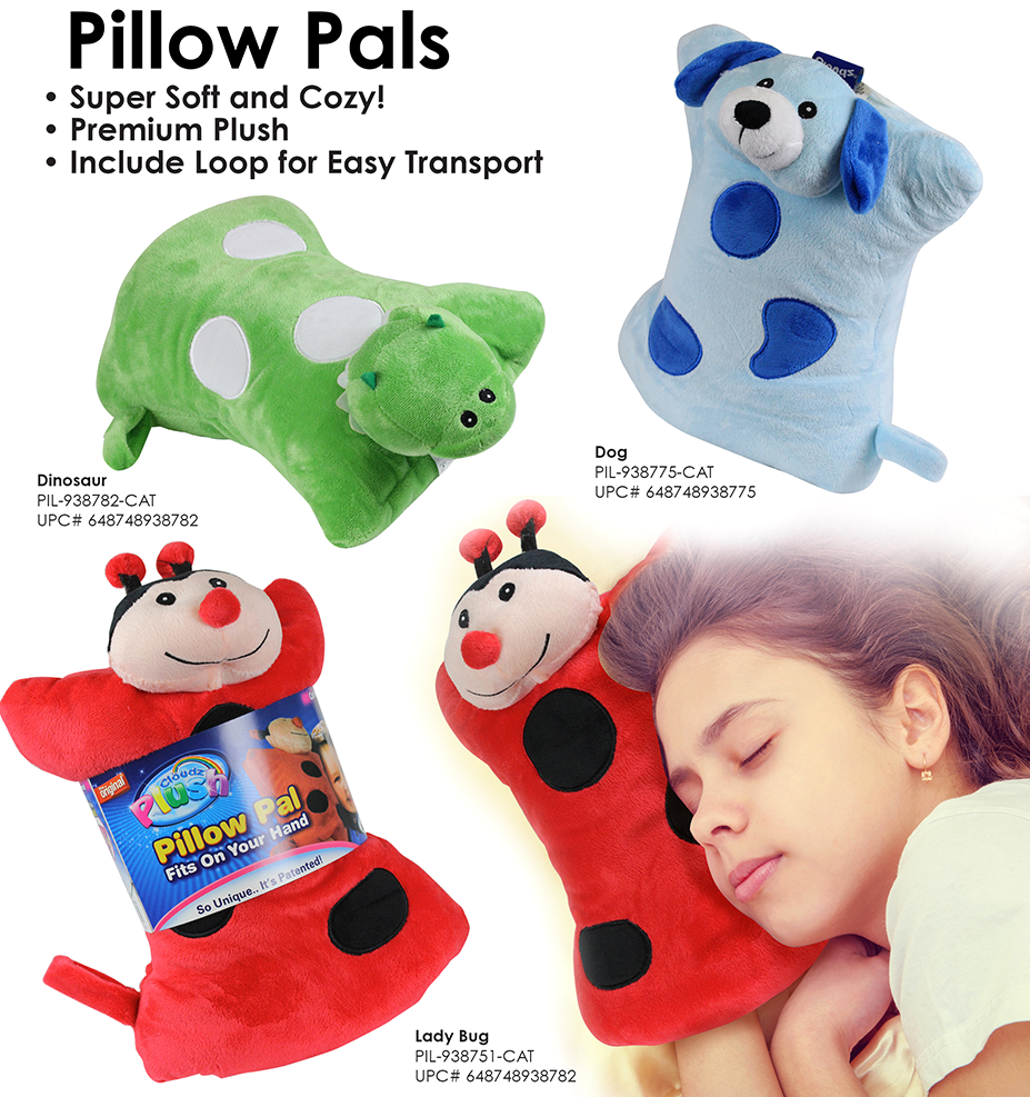 Cloudz ON-Hand Pillow Pals