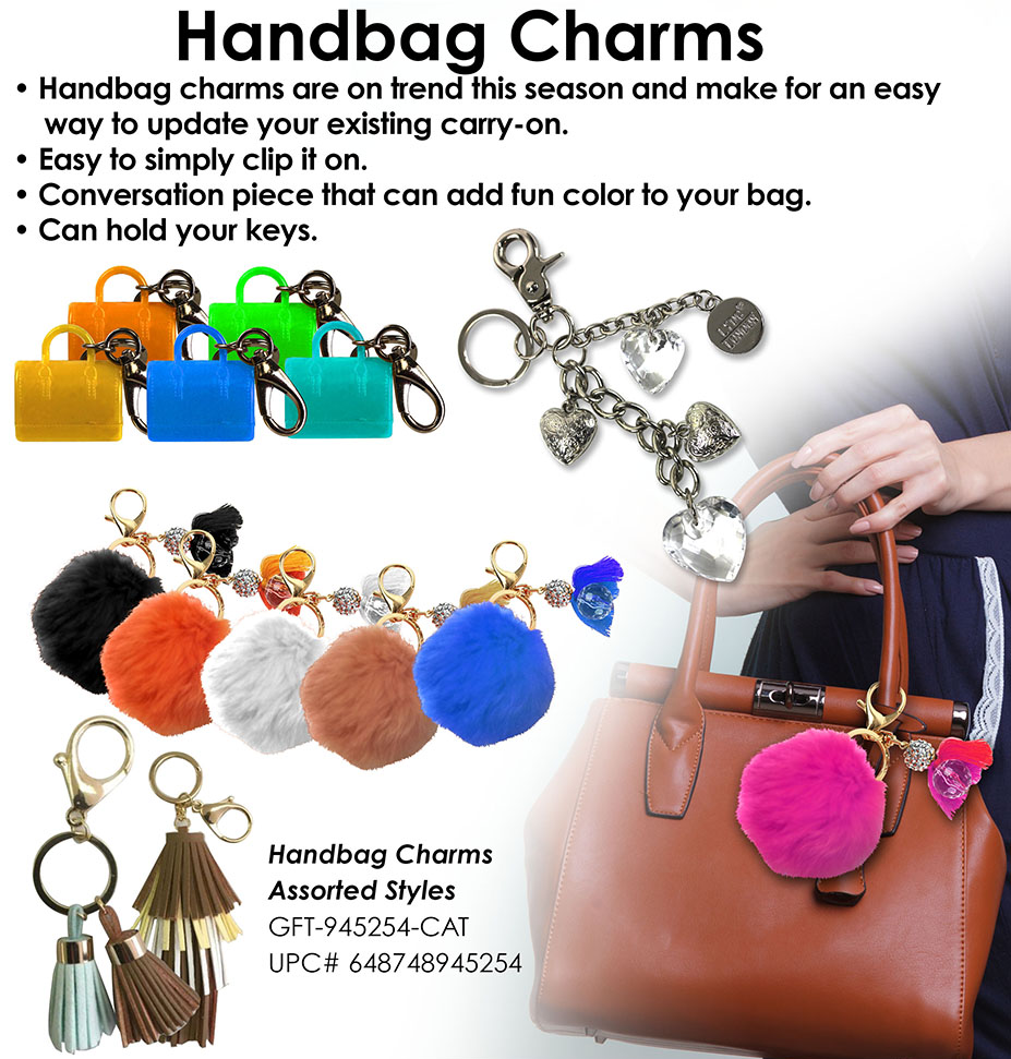 SNI Today Handbag Charms 2