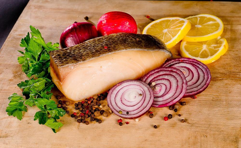 saumon pour les os