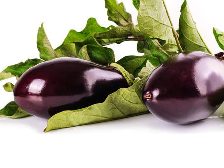 L'aubergine : peu calorique et anti-stress !