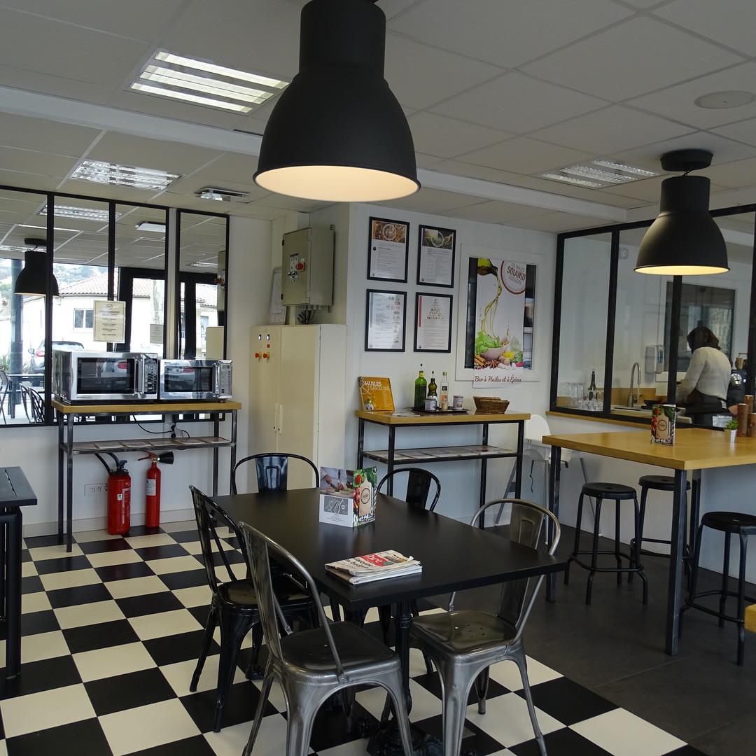 Restaurant 100% bio Les Halles Solanid Lodève