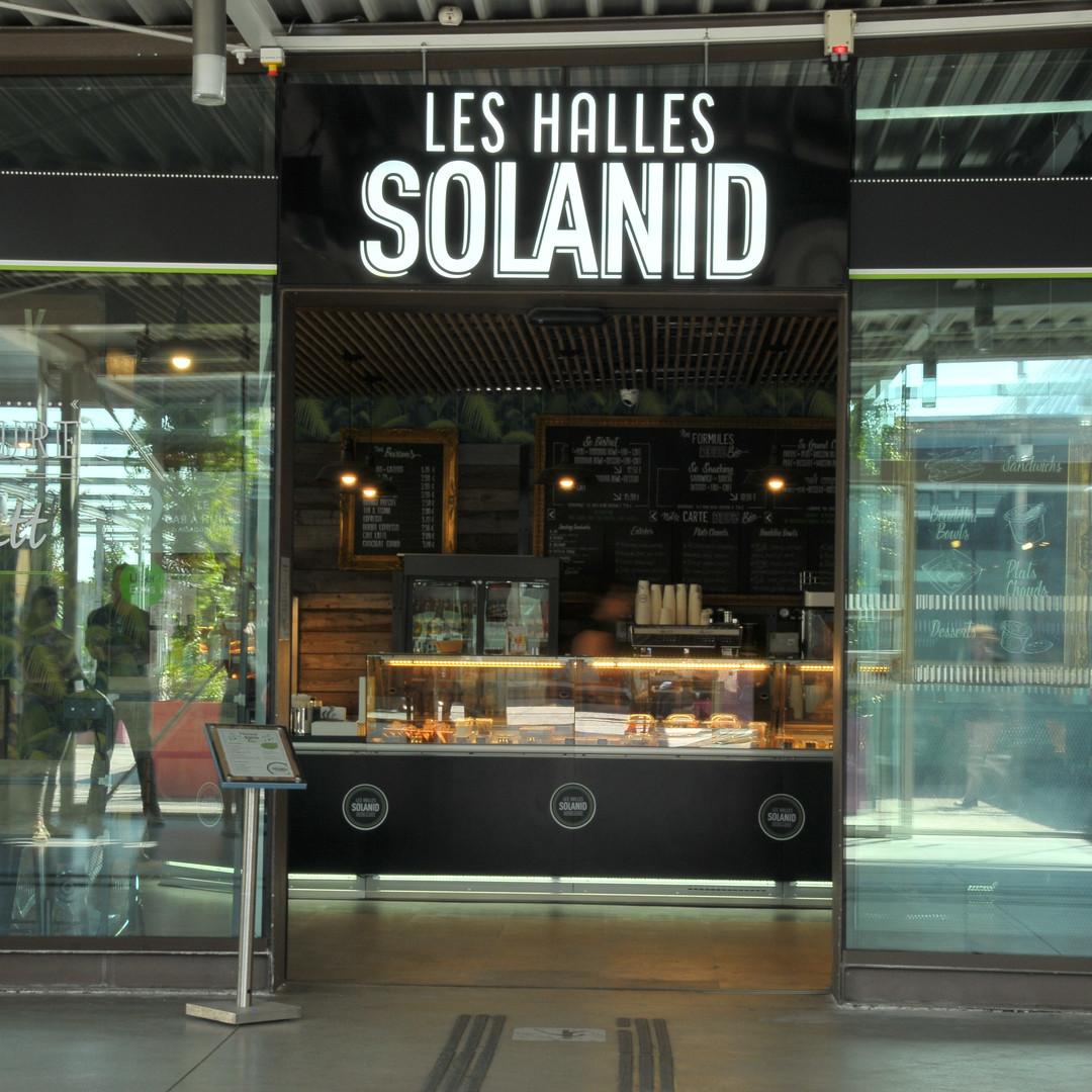 Les Halles Solanid gare st Roch