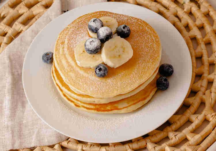 pancake a la banane