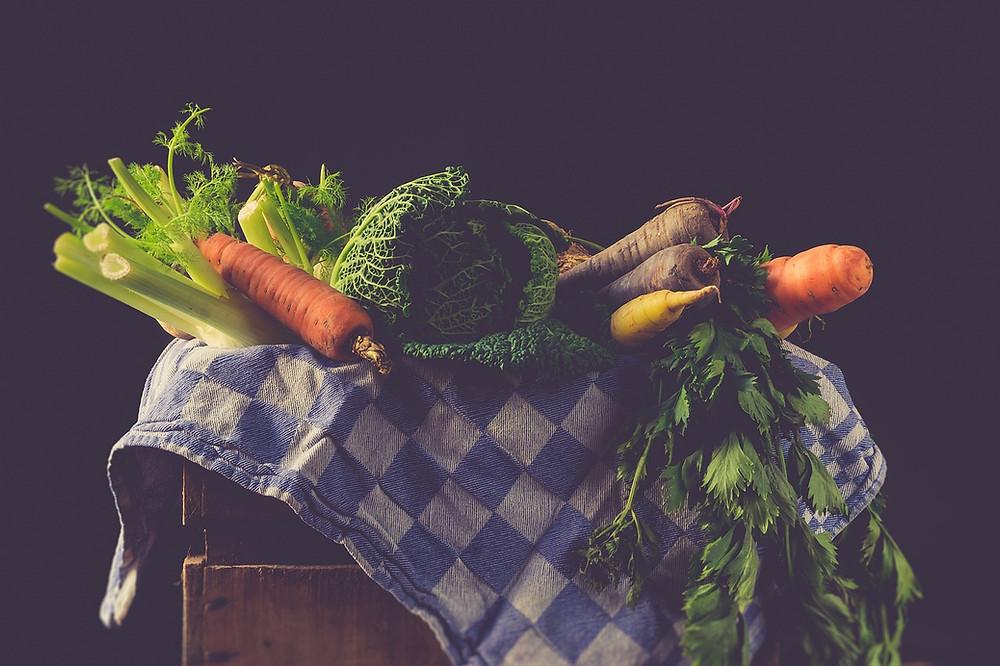 les legumes racines oublies