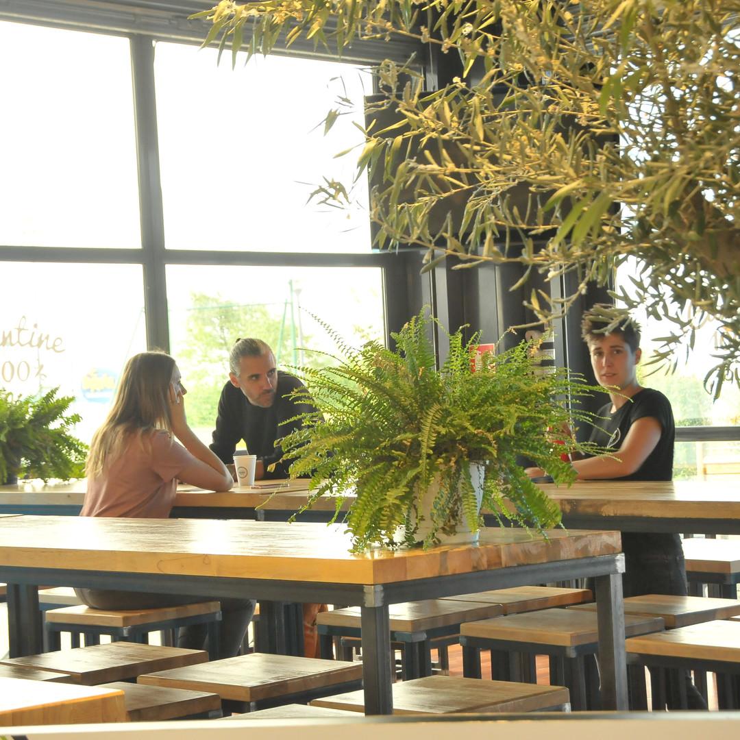Terrasse Odysseum restaurant 100%