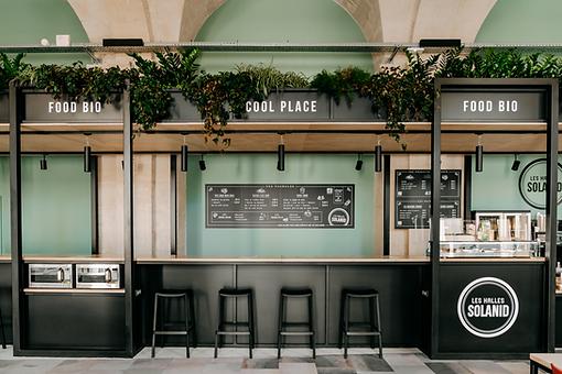 Restaurant 100% bio Les Halles solanid