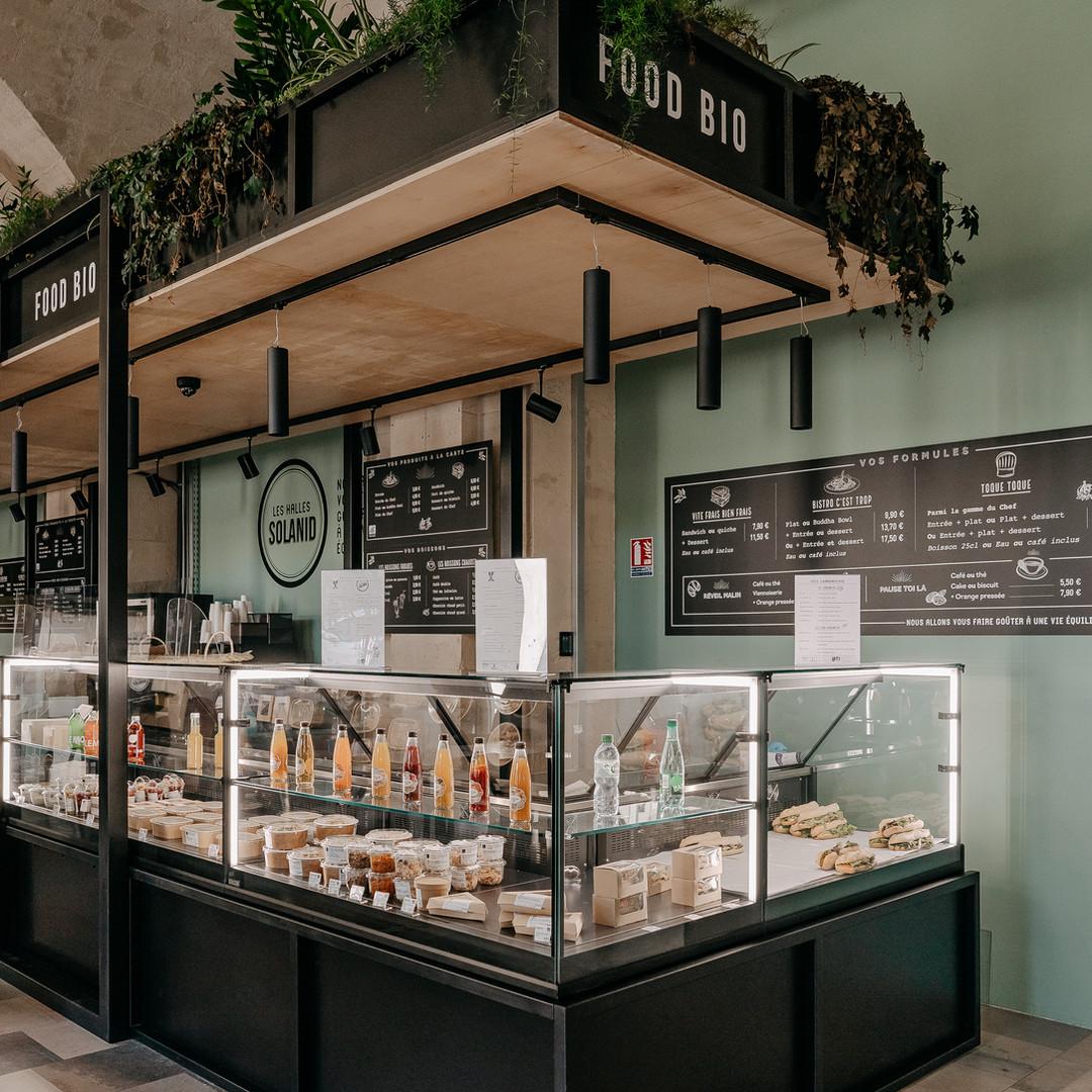 restaurant bio gare de Nîmes