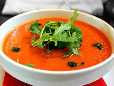 La soupe d'été : le gaspacho !