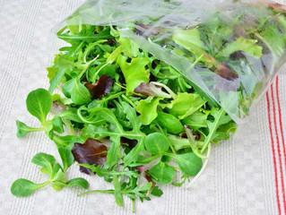 Ah ces salades en sachets...!