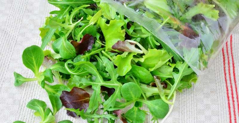 Ah ces salades en sachets... !