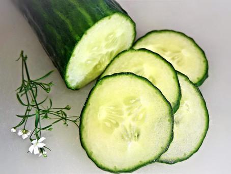 Le concombre : allié des étés chauds