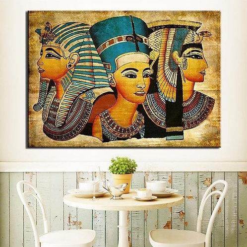 Three Female Egyptian Wall Art
