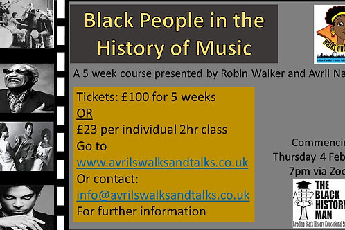 Earlybird Black People in the History of Music