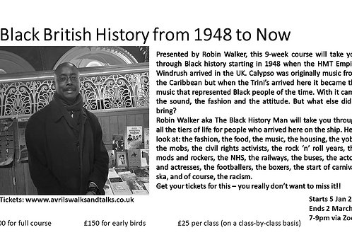 ClassbyClass Black British History from 1948 to now