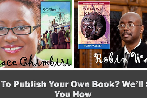 Want to Self Publish your own Book? We'll Show You How!