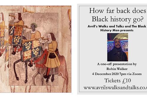 How Far Back Does Black History Go?