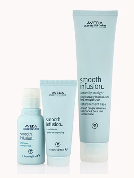 smoother, softer, straighter hair set